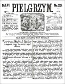 Pielgrzym, pismo religijne dla ludu 1874 nr 28