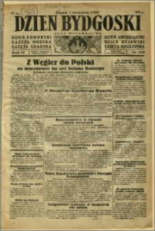 Dzień Bydgoski, 1933, R.4, nr 199