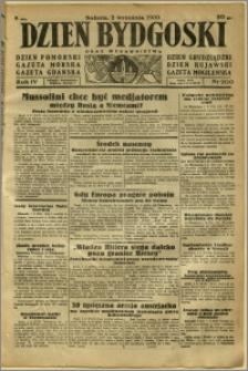 Dzień Bydgoski, 1933, R.4, nr 200