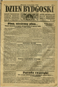 Dzień Bydgoski, 1933, R.4, nr 202