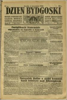 Dzień Bydgoski, 1933, R.4, nr 203