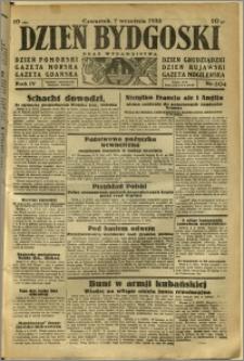 Dzień Bydgoski, 1933, R.4, nr 204