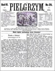 Pielgrzym, pismo religijne dla ludu 1874 nr 29