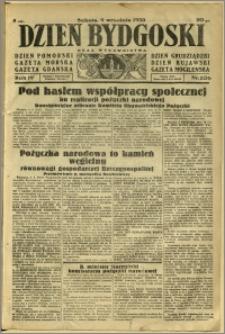 Dzień Bydgoski, 1933, R.4, nr 206