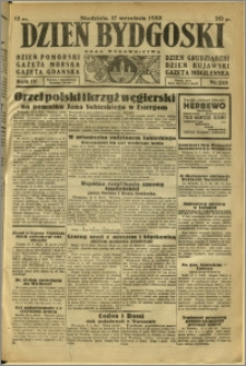 Dzień Bydgoski, 1933, R.4, nr 213