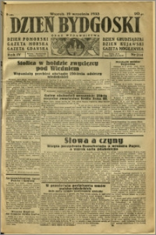 Dzień Bydgoski, 1933, R.4, nr 214