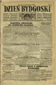 Dzień Bydgoski, 1933, R.4, nr 221