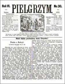 Pielgrzym, pismo religijne dla ludu 1874 nr 30