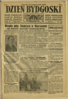 Dzień Bydgoski, 1933, R.4, nr 232