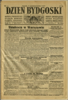 Dzień Bydgoski, 1933, R.4, nr 233