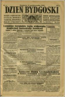Dzień Bydgoski, 1933, R.4, nr 237