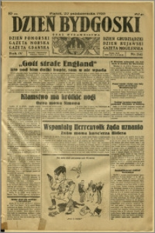 Dzień Bydgoski, 1933, R.4, nr 241