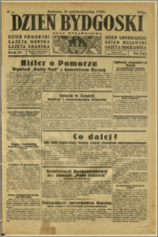 Dzień Bydgoski, 1933, R.4, nr 242