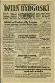 Dzień Bydgoski, 1933, R.4, nr 245