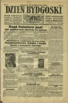 Dzień Bydgoski, 1933, R.4, nr 246