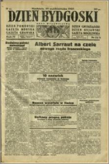 Dzień Bydgoski, 1933, R.4, nr 249