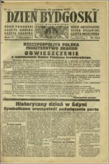 Dzień Bydgoski, 1933, R.4, nr 283