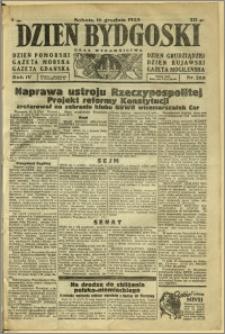 Dzień Bydgoski, 1933, R.4, nr 288