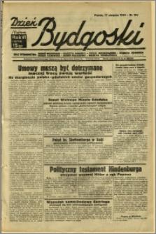Dzień Bydgoski, 1934, R.6, nr 184