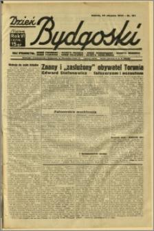 Dzień Bydgoski, 1934, R.6, nr 191