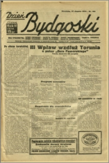 Dzień Bydgoski, 1934, R.6, nr 192