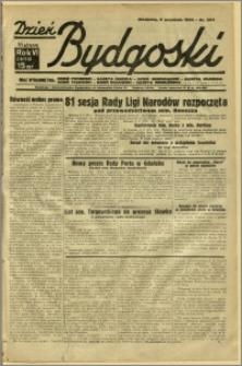 Dzień Bydgoski, 1934, R.6, nr 204