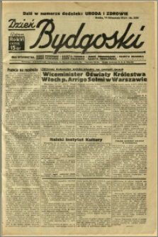 Dzień Bydgoski, 1934, R.6, nr 259