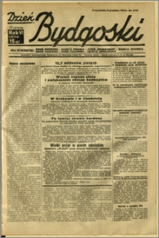 Dzień Bydgoski, 1934, R.6, nr 278