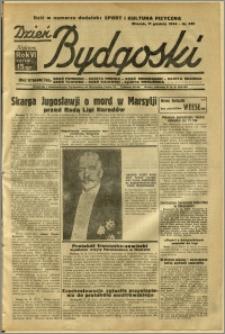 Dzień Bydgoski, 1934, R.6, nr 281