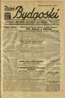 Dzień Bydgoski, 1934, R.6, nr 291