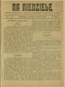 Na Niedzielę, 1908, R.1, nr 8