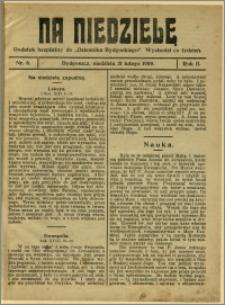 Na Niedzielę, 1909, R.2, nr 8