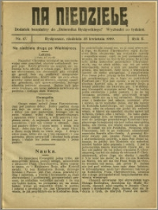 Na Niedzielę, 1909, R.2, nr 17
