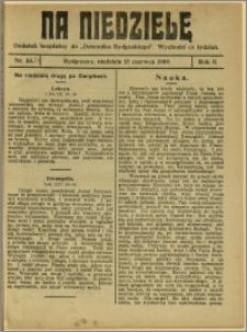 Na Niedzielę, 1909, R.2, nr 24