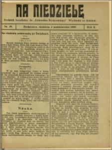 Na Niedzielę, 1909, R.2, nr 39
