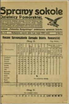 Sprawy Sokole Dzielnicy Pomorskiej, 1925, R.2, nr 5