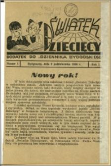 Światek Dziecięcy, 1936, R.1, nr 1