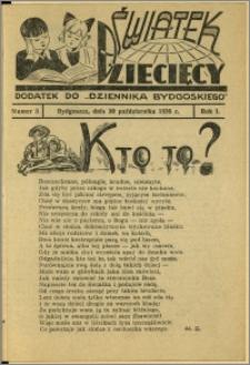 Światek Dziecięcy, 1936, R.1, nr 3