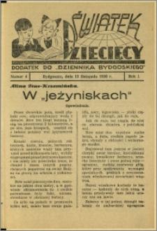 Światek Dziecięcy, 1936, R.1, nr 4