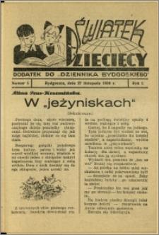 Światek Dziecięcy, 1936, R.1, nr 5