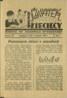 Światek Dziecięcy, 1936, R.1, nr 6
