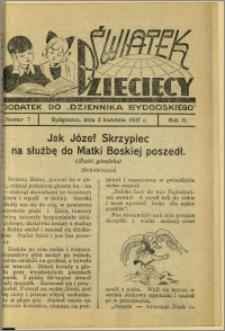 Światek Dziecięcy, 1937, R.2, nr 7