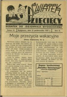 Światek Dziecięcy, 1937, R.2, nr 16