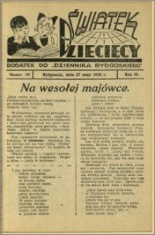 Światek Dziecięcy, 1938, R.3, nr 10