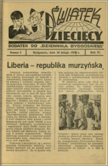 Światek Dziecięcy, 1939, R.4, nr 3