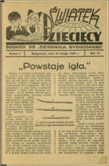 Światek Dziecięcy, 1939, R.4, nr 4