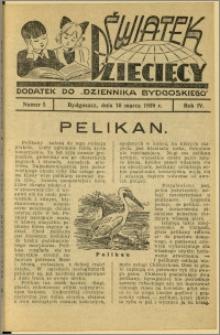 Światek Dziecięcy, 1939, R.4, nr 5