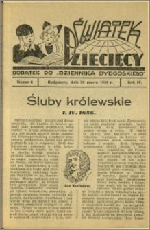 Światek Dziecięcy, 1939, R.4, nr 6