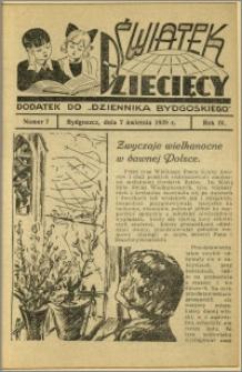 Światek Dziecięcy, 1939, R.4, nr 7