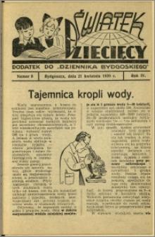 Światek Dziecięcy, 1939, R.4, nr 8